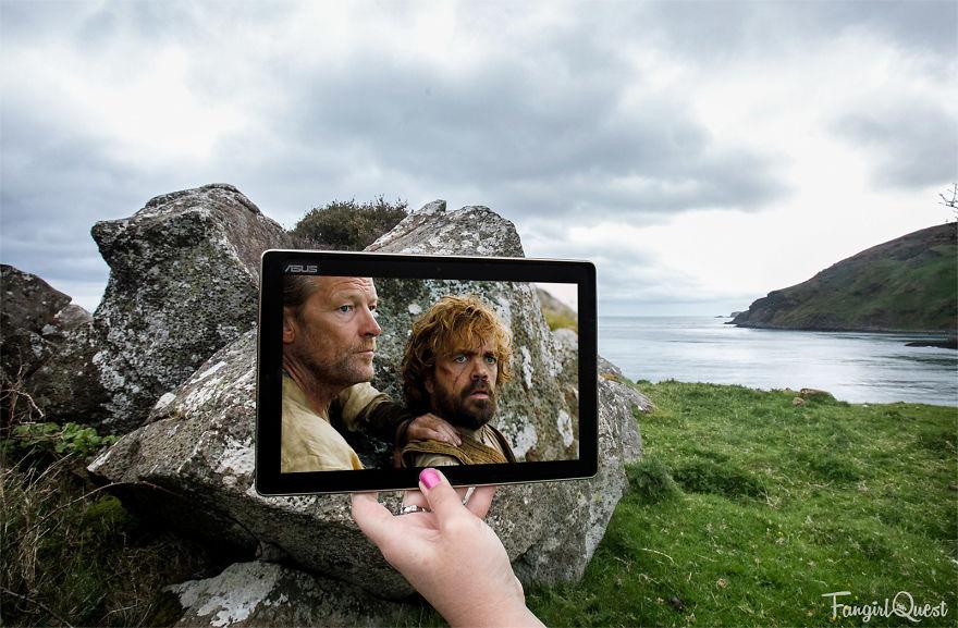 Ser Jorah And Tyrion At Murlough Bay, Northern Ireland
