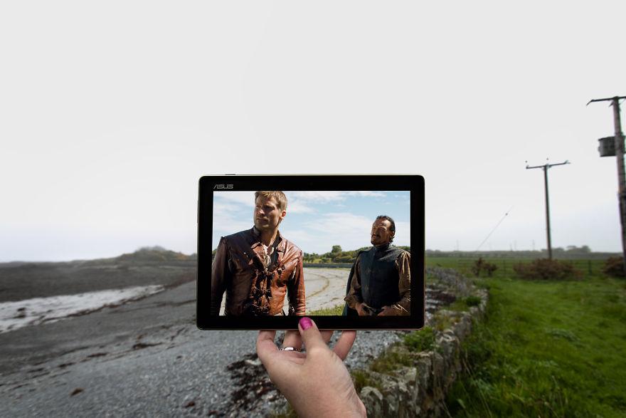 Jaime Lannister At Quintin Bay In Portaferry, Northern Ireland