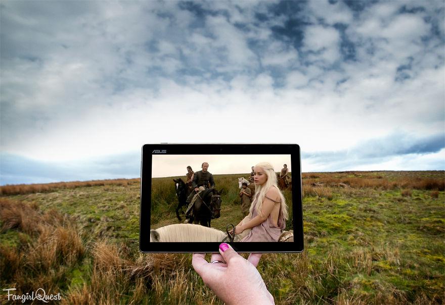 Sceneframing Khaleesi At Shillanavogy Valley, Northern Ireland