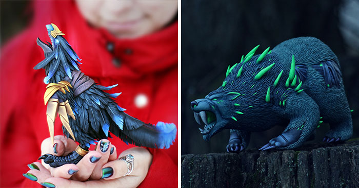 I Craft Magical Creatures Straight Out Of World Of Warcraft Which Take About 2 Months To Make