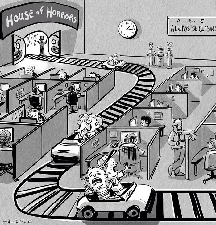 30 Single-Panel Comics By 'Bogart Creek'