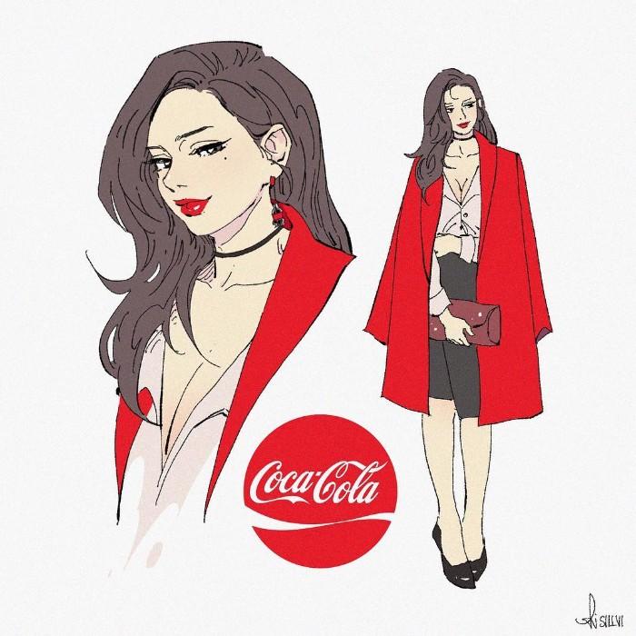 Karakter Coca-Cola