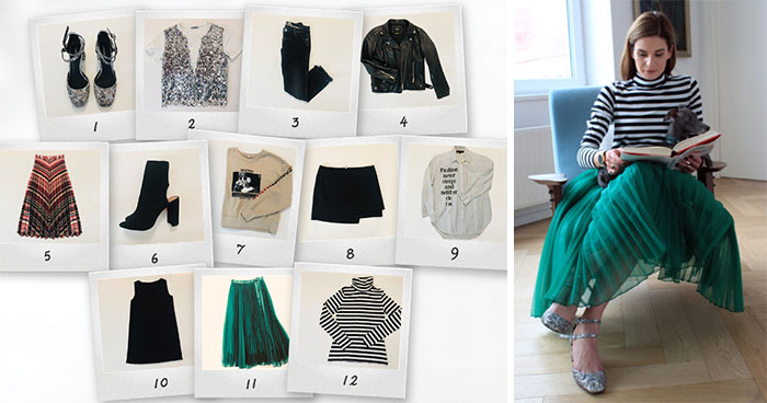 I Wore Outfits From The Same 12 Items For A Whole Month As A Manifestation Against Consumerism