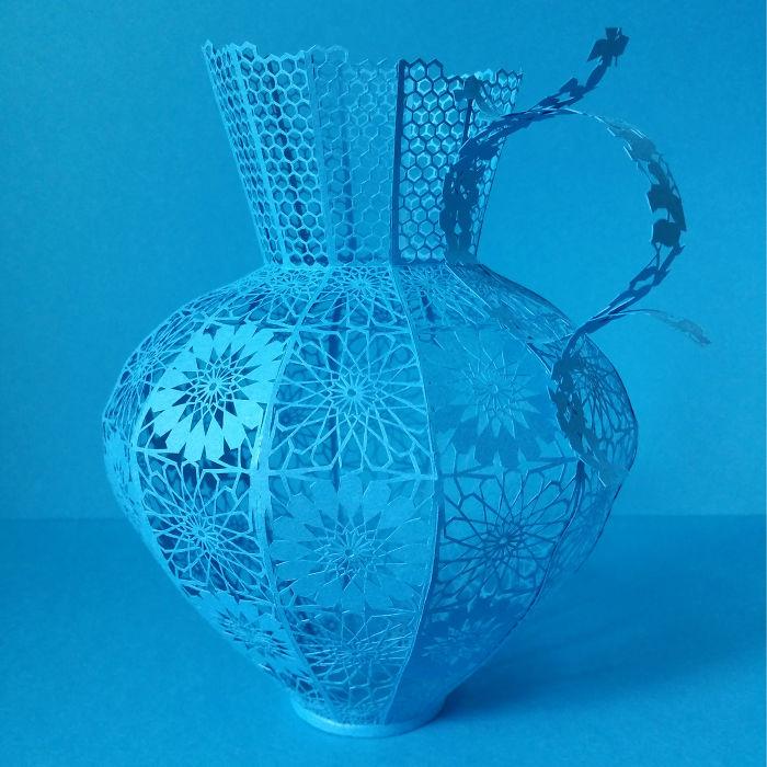 """Tabriz Blue"" By Rosa Yoo (South Korea)"