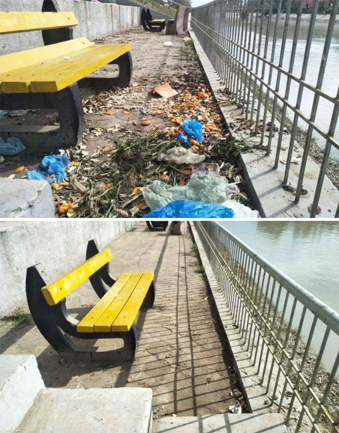 #trashtag There's An Organisation I Volunteer At And We Basically Do Cleanups Like This In The City. Places That Have Been Forgotten By The Local Government And Make Them Accessible For The Public. Peace.