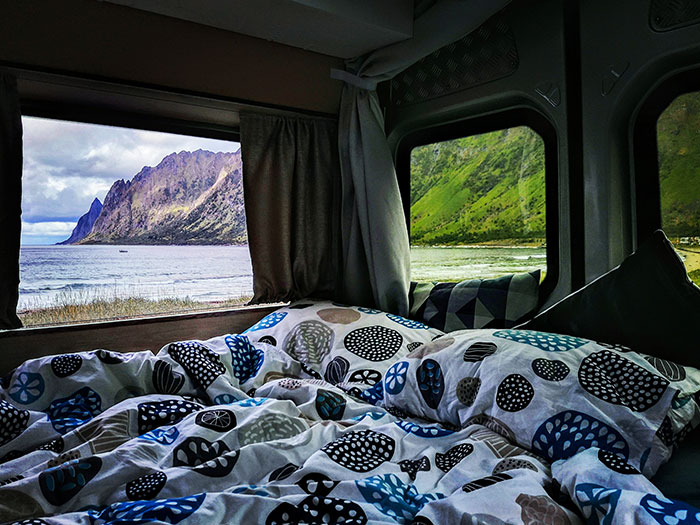 If You're Thinking About Not Having Windows In Your Van's Sleeping Area... Think Again