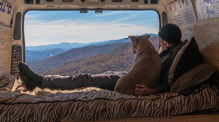 Enjoying The View With My Pup