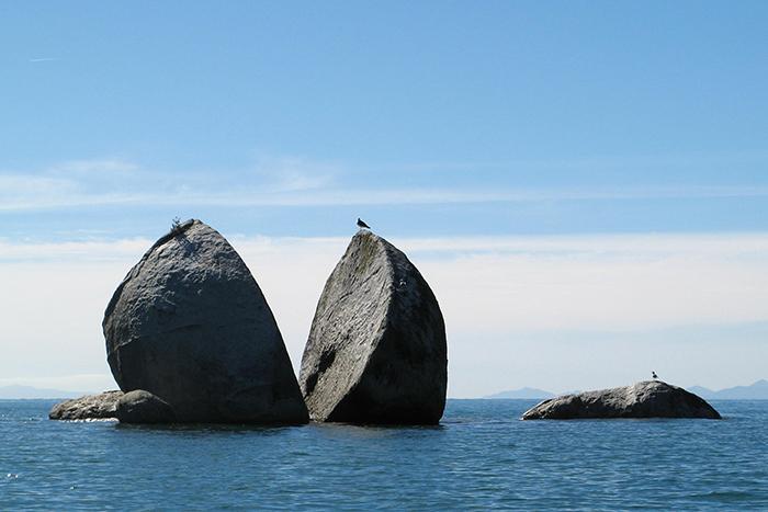 Rock in New Zealand