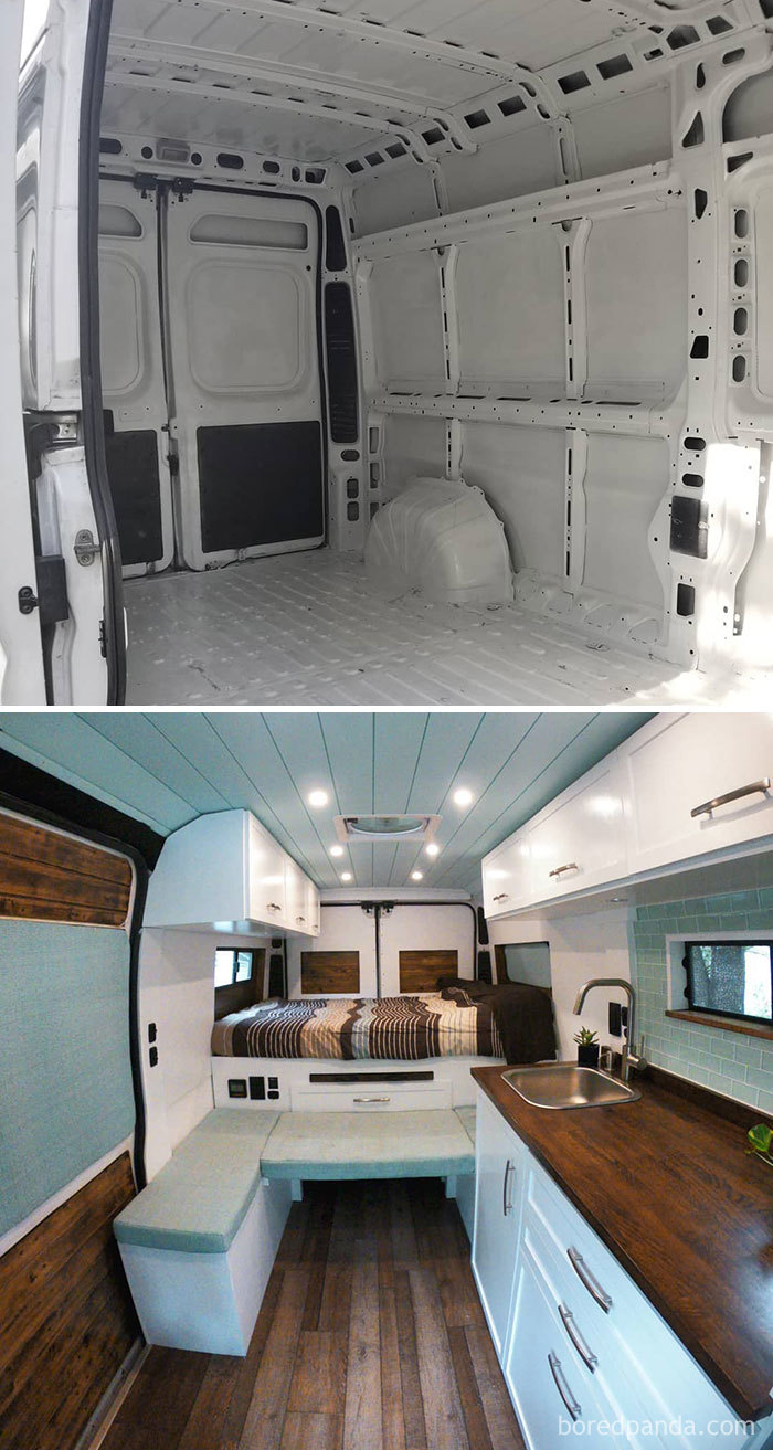 After 17 Weeks Of Hard Work And Research We Are So Excited To Finally Say The Van Is Finished And Move In Ready