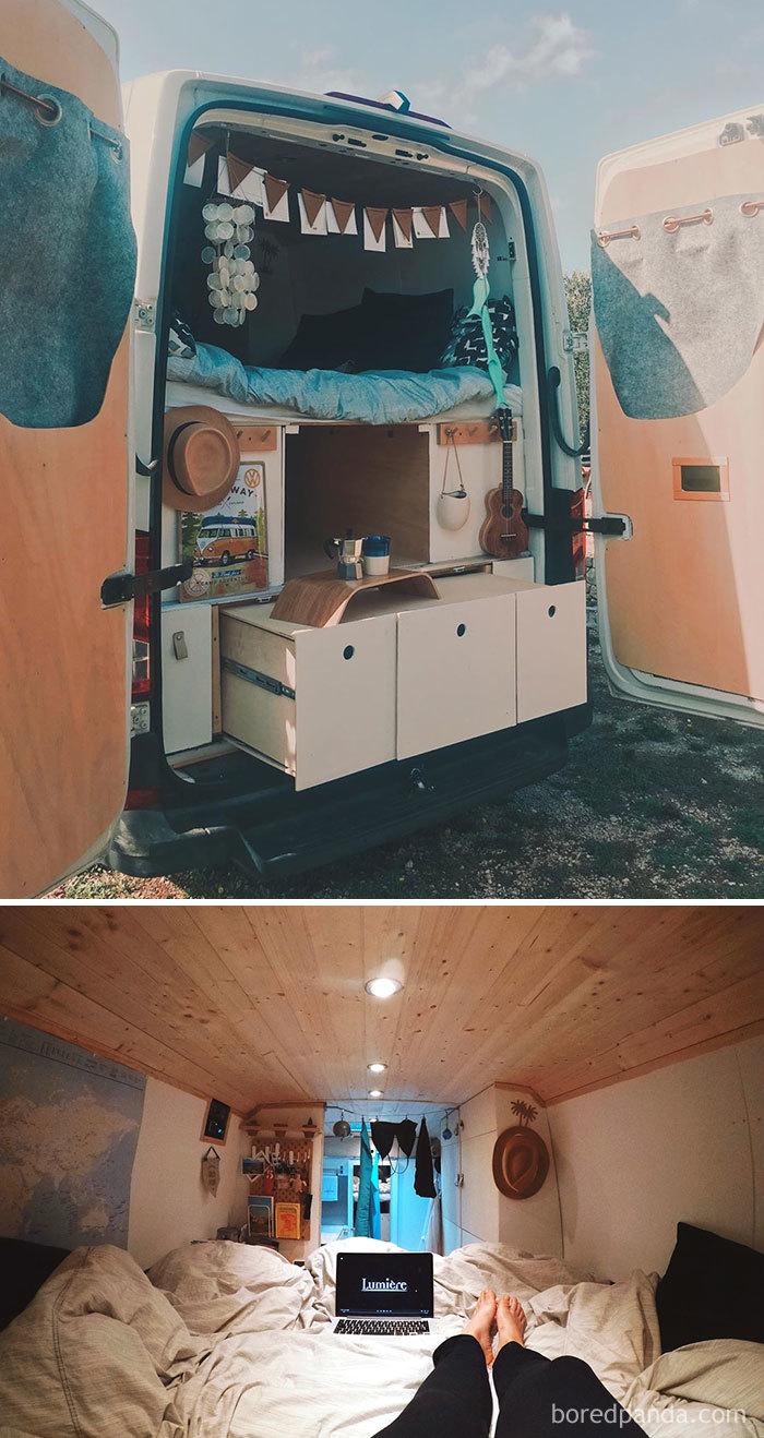 The Wandering Van Or Even Visual Lab On Wheels