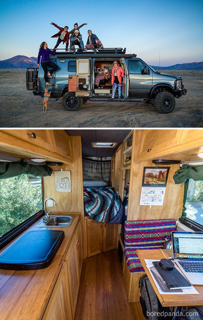 Left Our Home In San Francisco To See All 50 States In Our Converted Sprinter Vanna