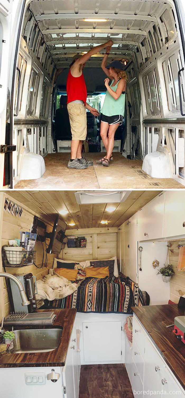 30 Of The Most Epic Bus And Van Conversions | Bored Panda