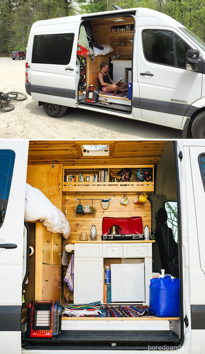 Our Sprinter Van