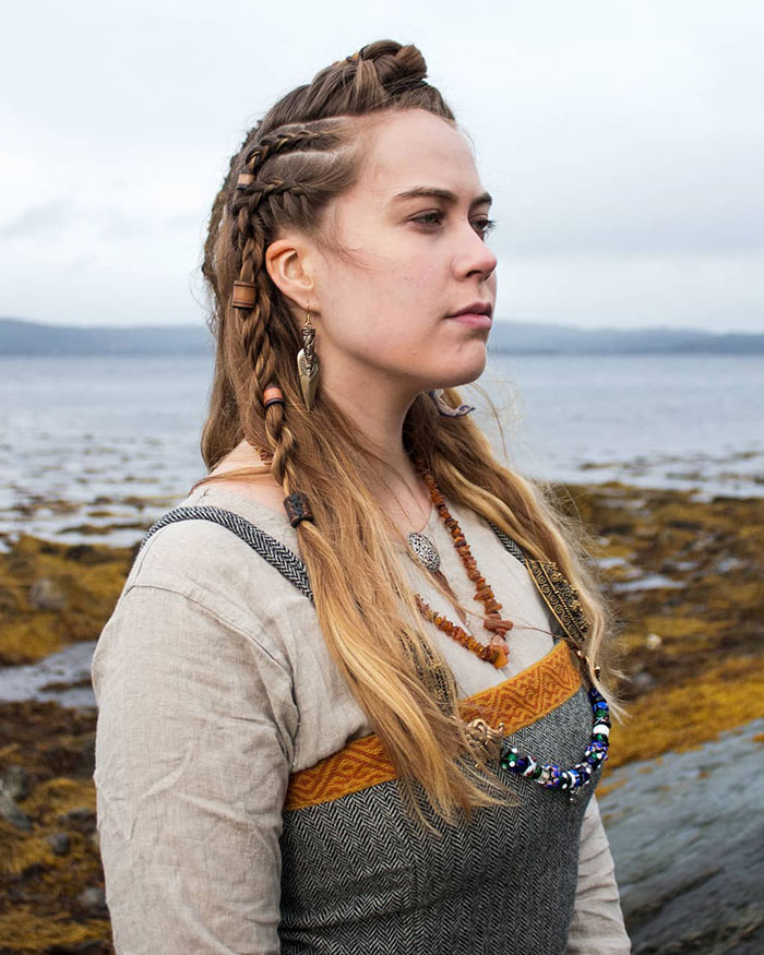 I Love Braiding My Hair For Reenactment Events, Photo Shoots And Everyday Wear