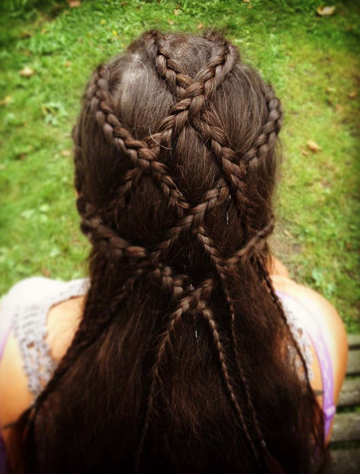 Hairstyle For Tonsberg Viking Festival