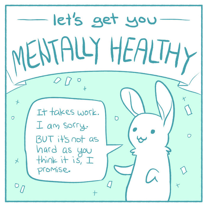 Artist With Depression Illustrates What She's Learned In Therapy To Help People Deal With Their Mental Health Problems