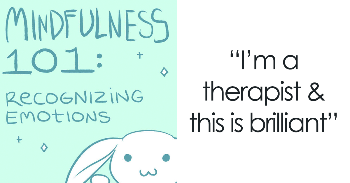 Artist With Depression Illustrates What She's Learned In Therapy To Help People Deal With Their Mental Health