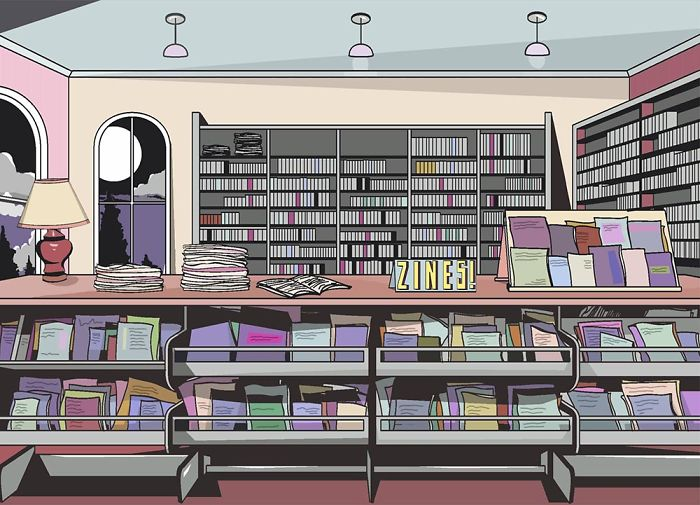 Zines Are Popping Up In Public Libraries Across The U.s.