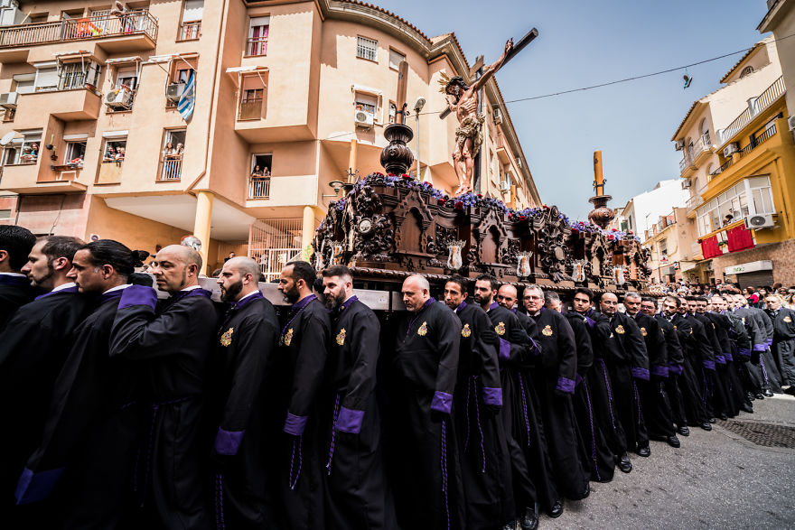 It Is A Spiritual Experience To Take Pictures Of Such Deep Religious Belief - Semana Santa Malaga