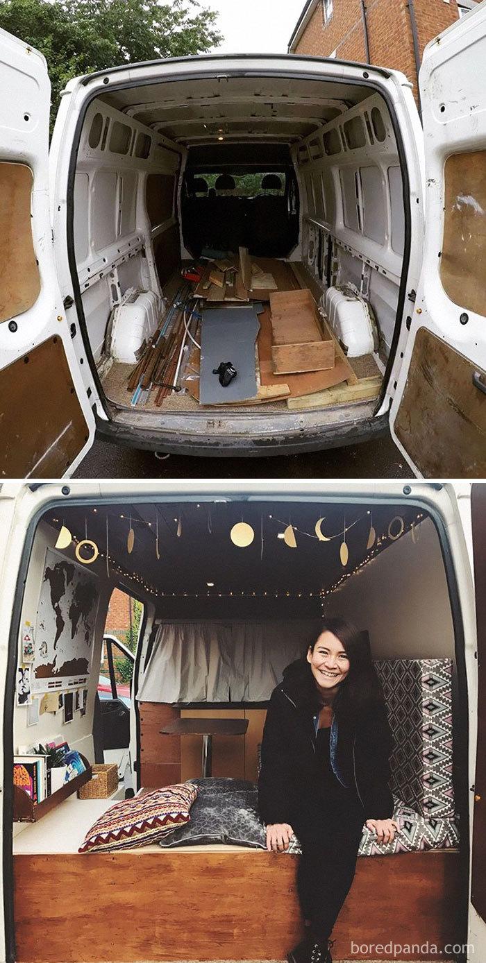 We Transformed A Van!