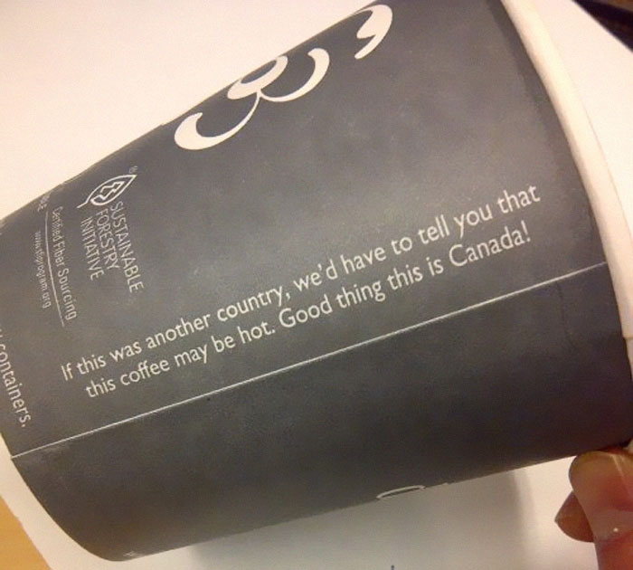 Canadians Try To Roast Americans Over 'Caution Hot' Signs On Coffee Cups, Get Burned With Comebacks