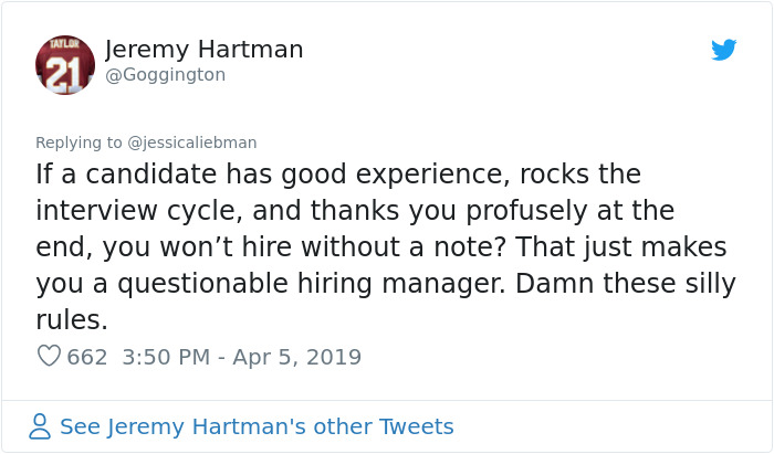 hiring manager