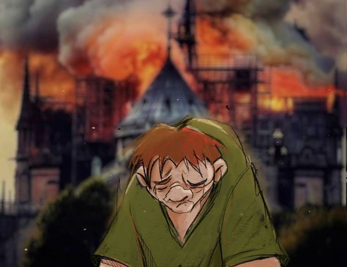 His Home Will Be Rebuilt 🖤 Hunchback Of Notre Dame