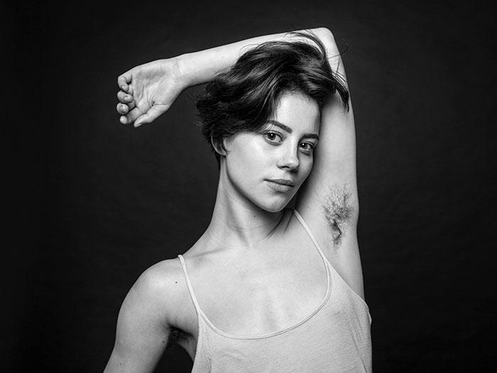 Natural-Unshaved-Women-Armpit-Hair-Ben-Hopper