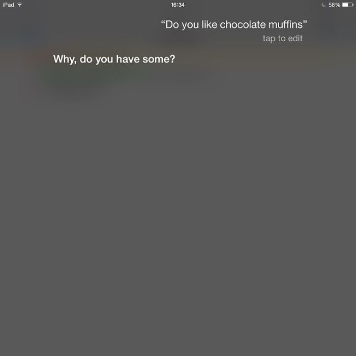 Talking With Siri