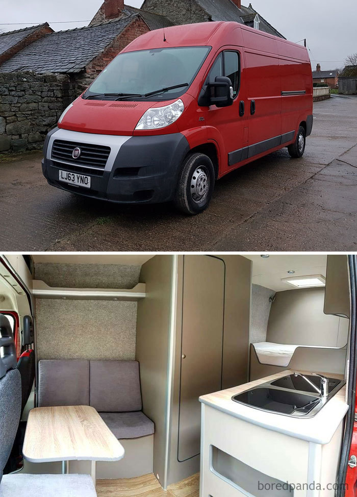 Van Conversion For European Travelling