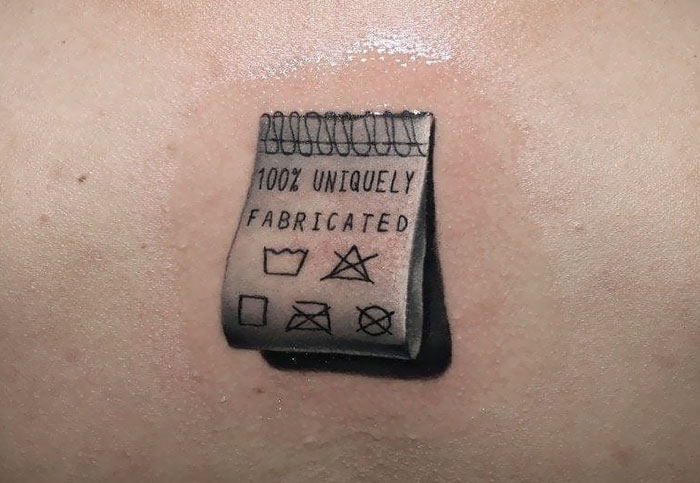 Small Realistic Tattoo