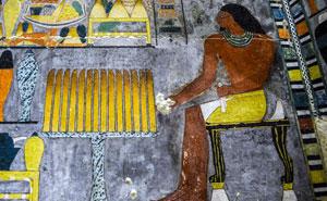 Los arqueólogos descubren una tumba egipcia de hace 4000 años y parece recién pintada