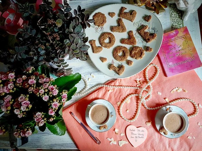 Love Cookies And Hot Chocolate