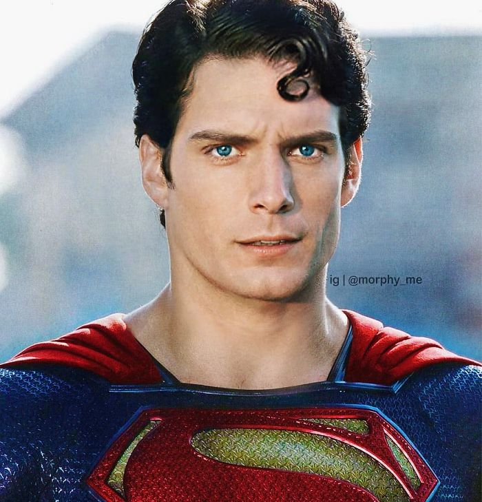 Henry Cavill & Christopher Reeve