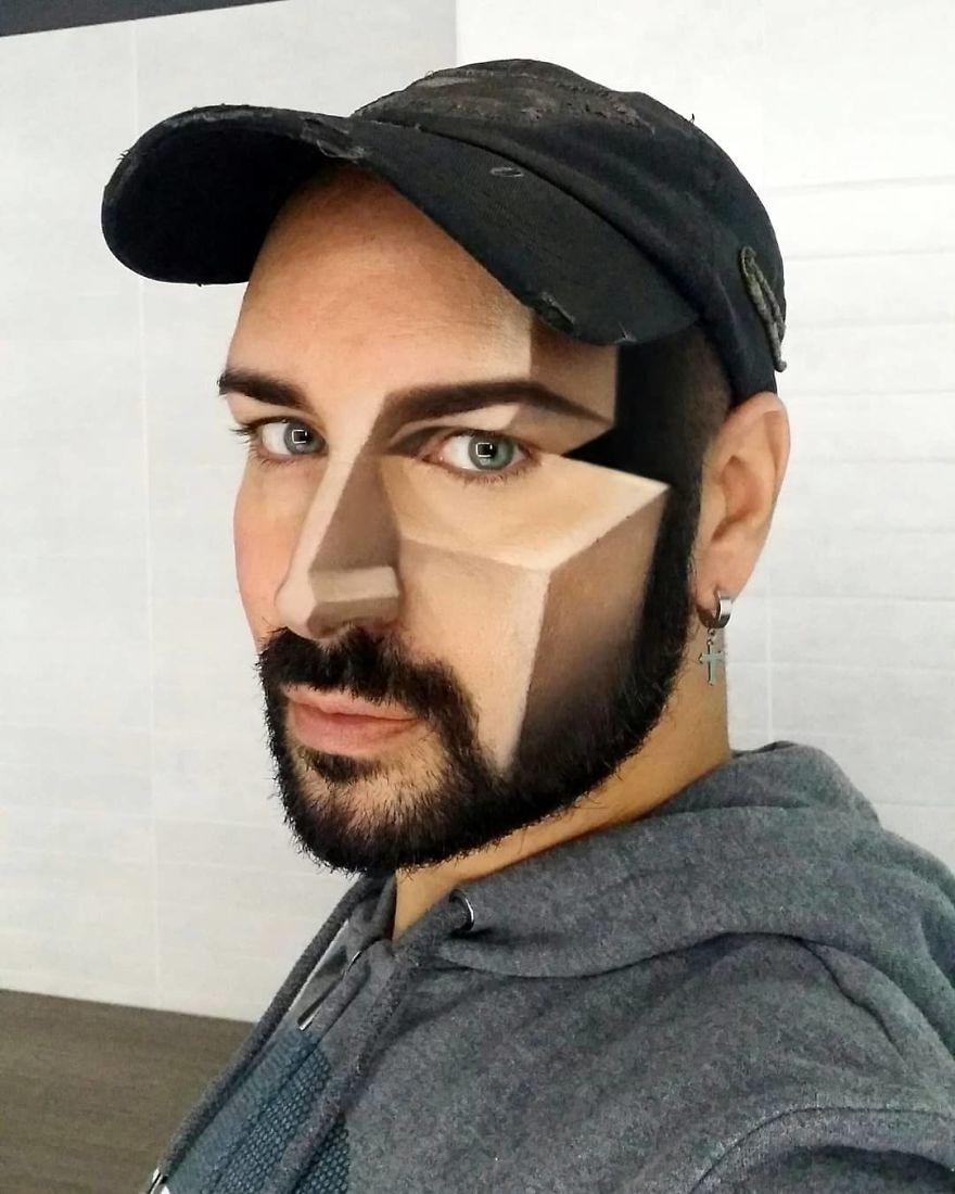 Makeup Artist Makes Your Face A Screen And You Will Be Impressed