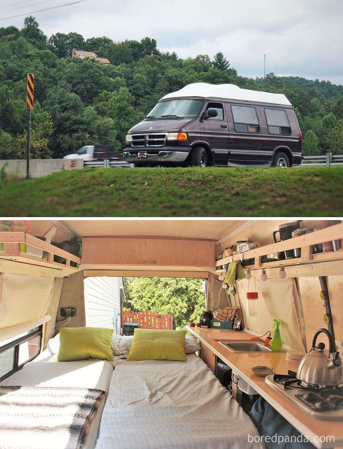 DIY Converted Camper Van