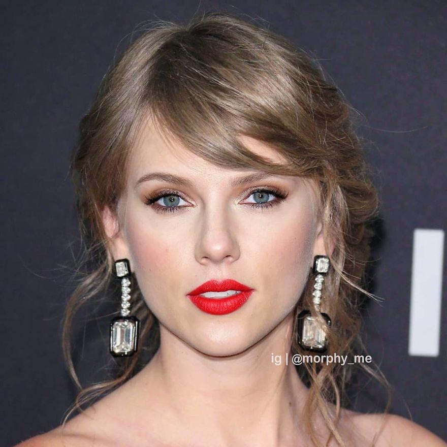 Scarlett Johansson & Taylor Swift