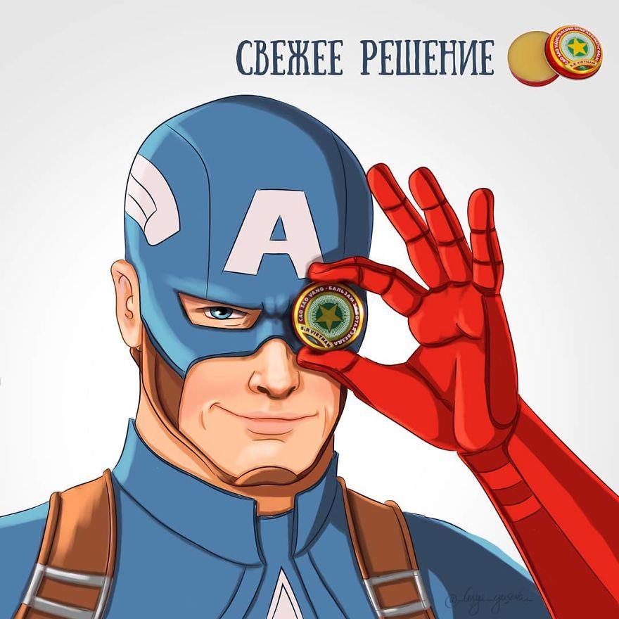 Captain America - Aromatic Balm