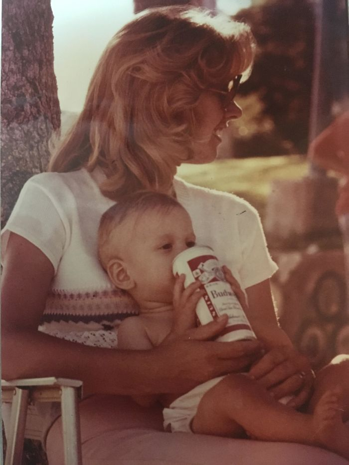My Mom Showing Off Her Parenting Skills 1978