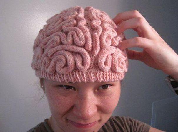 Brain Winter Hat