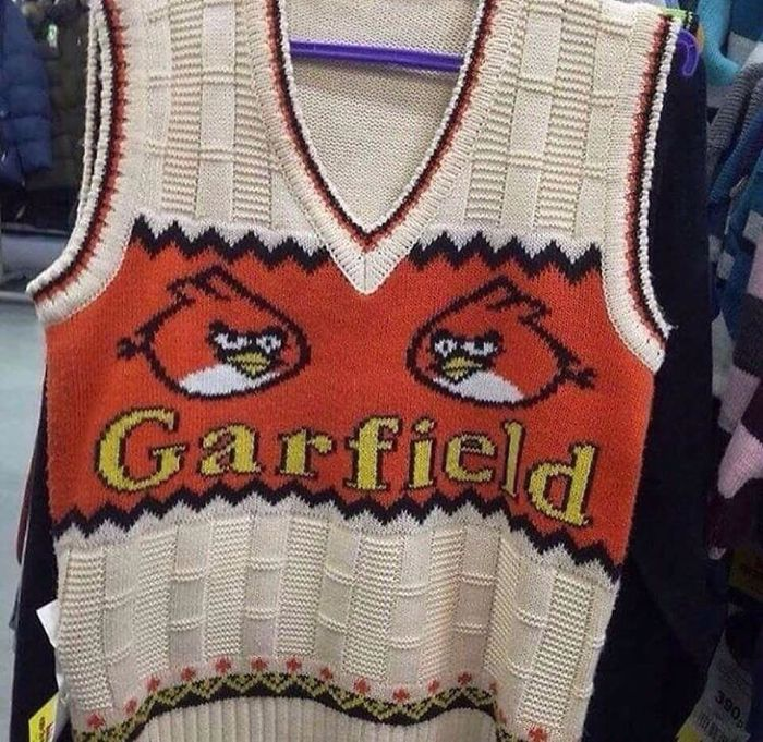 Yea. It's Garfield