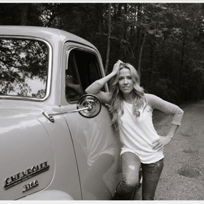 Sheryl Crow At Her Home Just Outside Nashville, TN