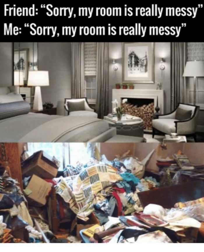 There's Messy And Then There's Messy