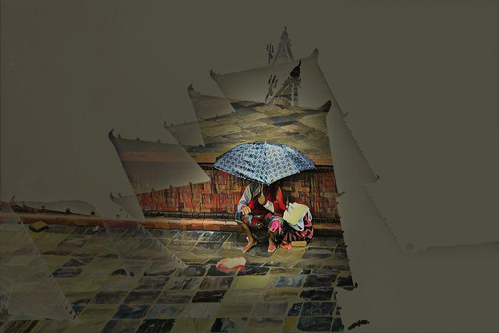 Begging In The Rain…