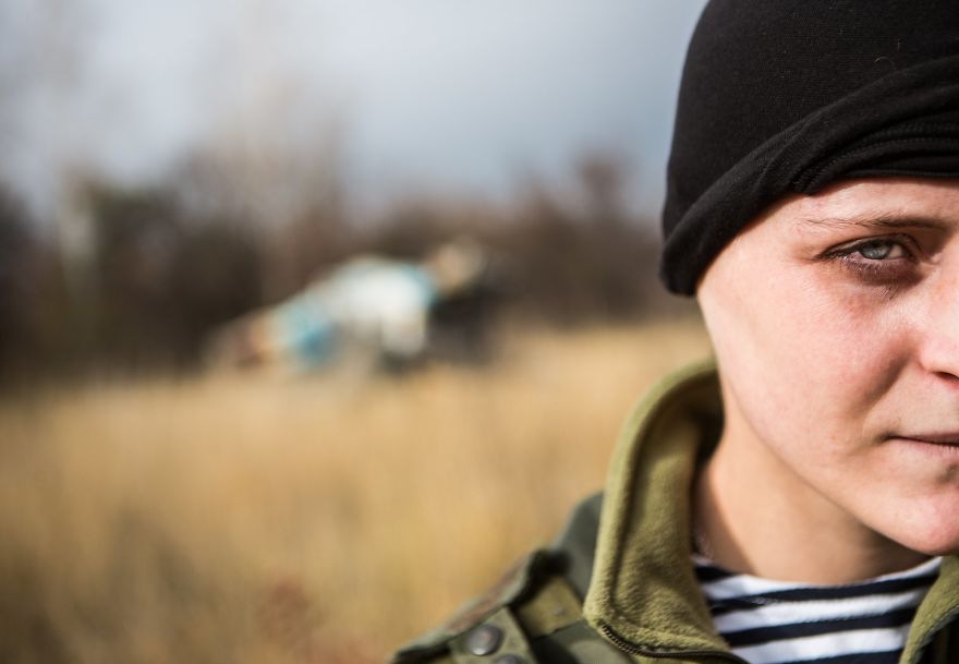 Russian Soldier That Has Joined Ukrainian Forces