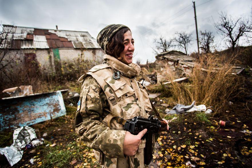 War Is Not Over Yet (Donbas, Ukraine)