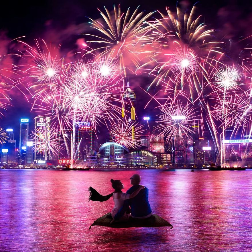 The Best Seats To Watch The Lunar New Year Fireworks Display
