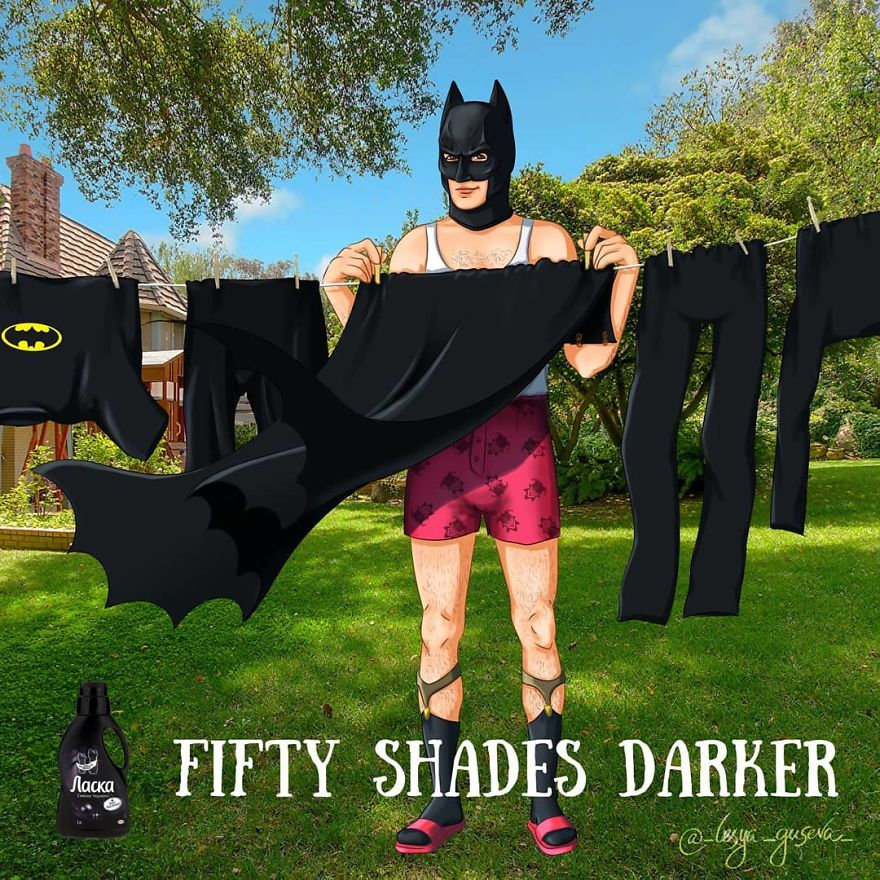 Bruce Wayne - Fabric Softener