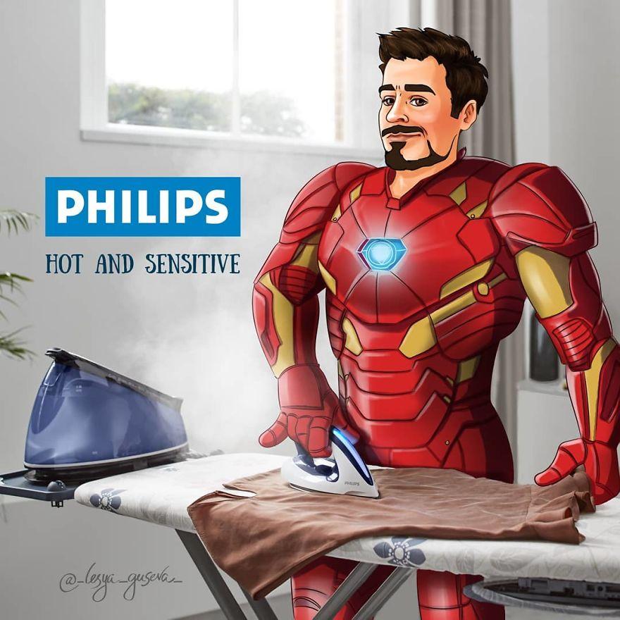 Iron Man - Iron