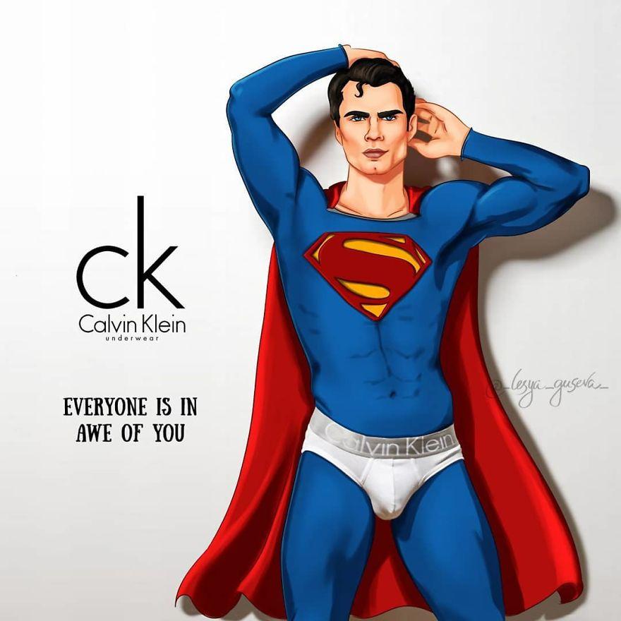 Superman - Underwear